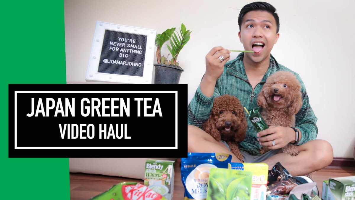 VLOG: JAPAN GREEN TEA HAUL