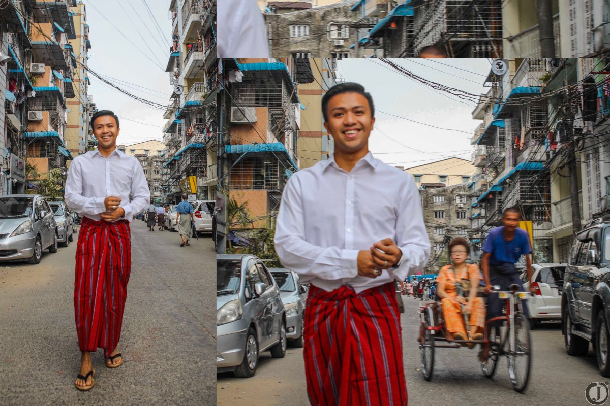 PERSONAL: WHY I LOVE TO WEAR MYANMAR LONGYI